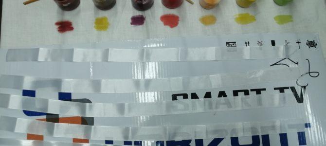Мастер-класс по покраске лент для вышивки